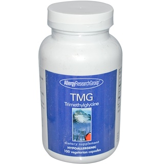 Allergy Research Group, TMG Trimethylglycine, 100 Veggie Caps