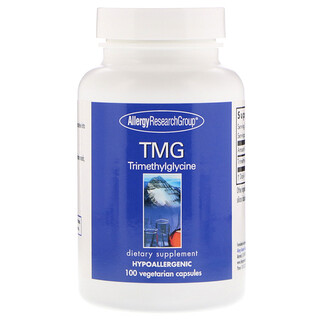 Allergy Research Group, TMG Trimethylglycine, 100 Vegetarian Capsules