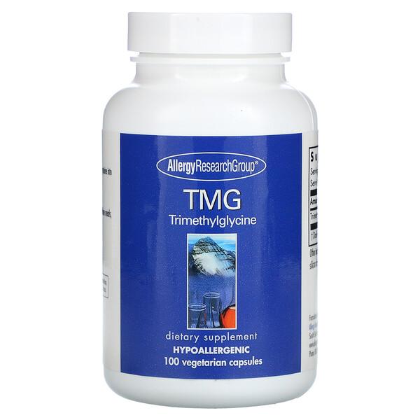 TMG Trimethylglycine, 100 Vegetarian Capsules