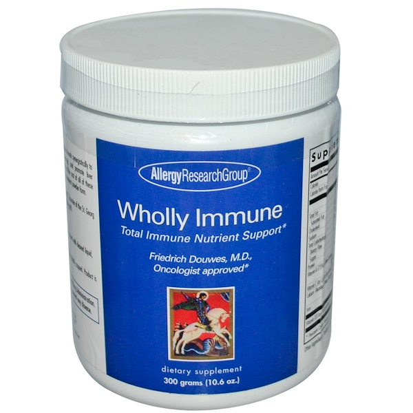 Allergy Research Group, Wholly Immune, 10.6 oz (300 g) (Discontinued Item)