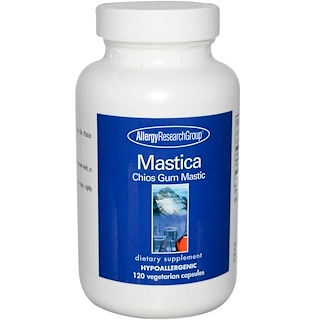 Allergy Research Group, Mastica, Chios Gum Mastic, 120 Veggie Caps