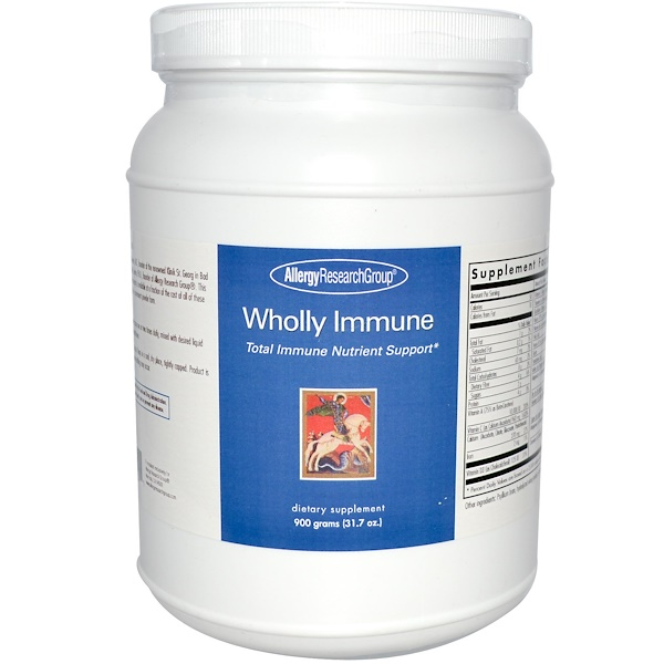 Allergy Research Group, Wholly Immune, 31.7 oz (900 g) (Discontinued Item)