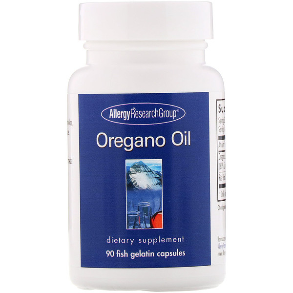 Oregano Oil, 90 Fish Gelatin Capsules