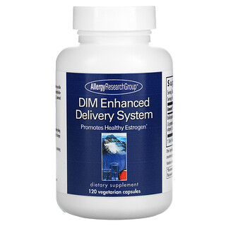 Allergy Research Group, DIM Enhanced Delivery System, 120 Vegetarian Capsules