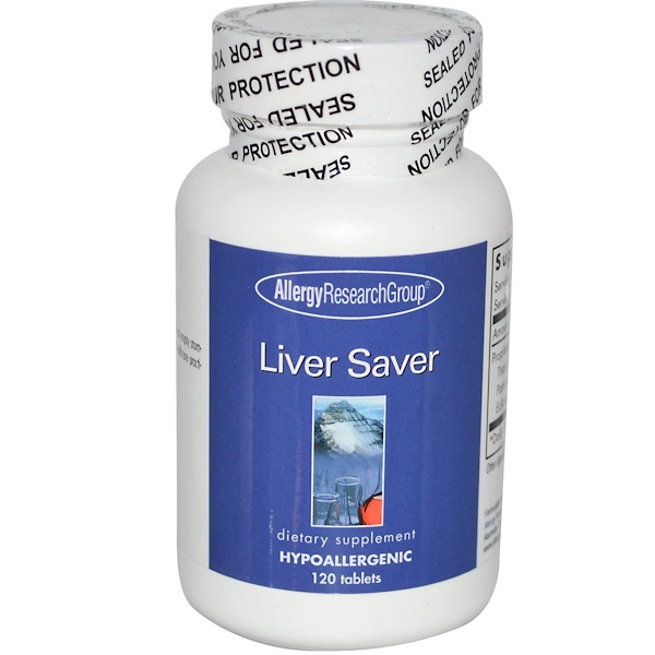 Allergy Research Group, Liver Saver, 120 Tablets (Discontinued Item)