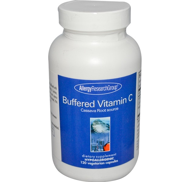 Allergy Research Group, Buffered Vitamin C, 120 Veggie Caps (Discontinued Item)