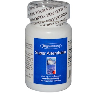 Allergy Research Group, Super Artemisinin, 60 Cápsulas Vegetales
