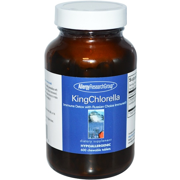Allergy Research Group, KingChlorella, 600 Chewable Tablets (Discontinued Item)