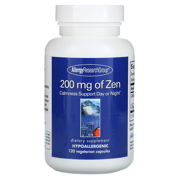 Zen, 200mg, 120capsules végétariennes