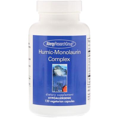 Купить Allergy Research Group Гуминовый монолаурин, 120 вегетарианских капсул