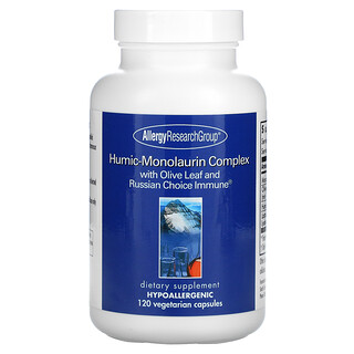 Allergy Research Group, Humic-Monolaurin Complex, 120 Vegetarian Capsules