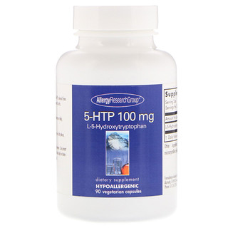 Allergy Research Group, 5-HTP, 100 mg, 90 Vegetarian Capsules