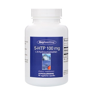 Allergy Research Group, 5-HTP, 100 mg , 90 Vegetarian Capsules