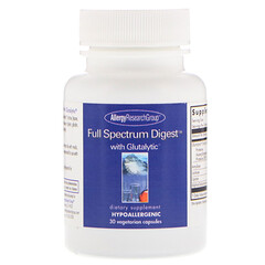 Allergy Research Group, Full Spectrum Digest with Glutalytic, 30 Vegetarian Capsules