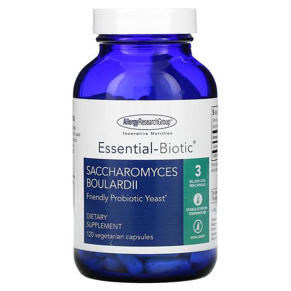 Saccharomyces Boulardii, Friendly Probiotic Yeast, 120 Vegetarian Capsules