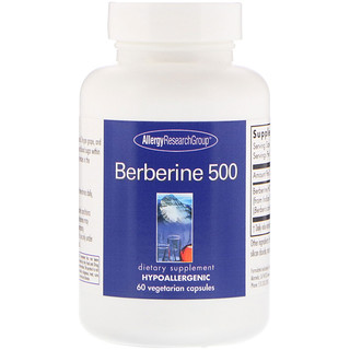 Allergy Research Group, Berberine 500, 60 Vegetarian Capsules