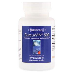 Эллерджи Ресёрч Груп, CurcuWin 500, 60 Vegetarian Capsules отзывы