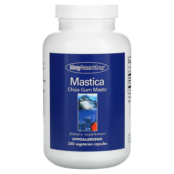 Mastica, Chios Gum Mastic, 240 Vegetarian Capsules