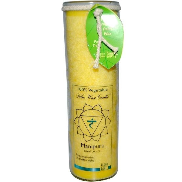 Aloha Bay, 100% Vegetable Palm Wax Candle, Manipura, 17 oz (Discontinued Item)