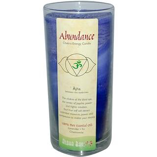 Aloha Bay, Chakra Energy Candle, Abundance, 11 oz