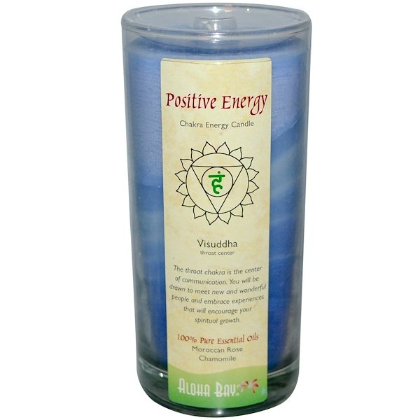 Aloha Bay, Chakra Energy Candle, Positive Energy, 11 oz