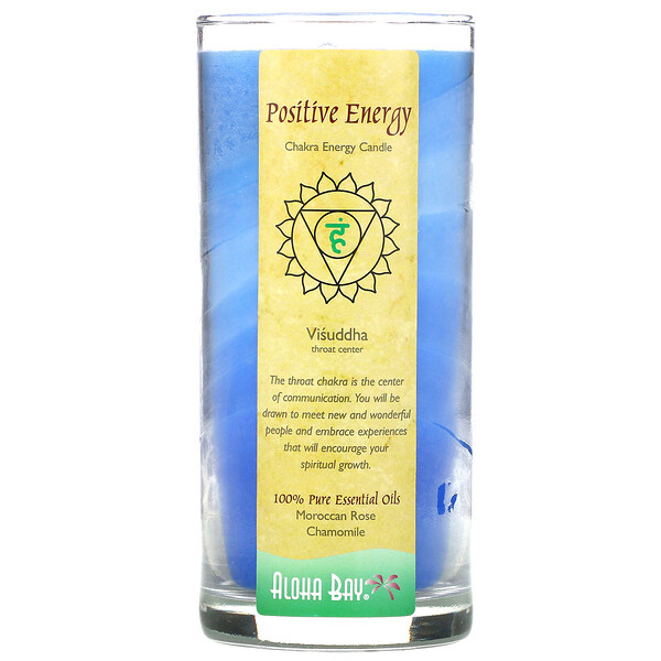 Chakra Energy Candle, Positive Energy, 11 oz