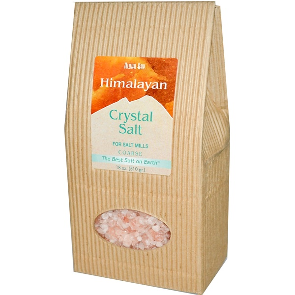 Aloha Bay, Himalayan Crystal Salt, Coarse, 18 oz (510 g)