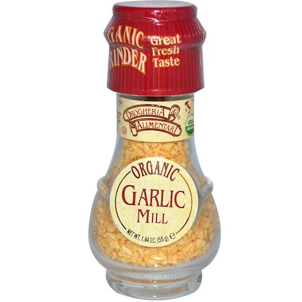 Drogheria & Alimentari, Organic Garlic Mill, 1.94 oz (55 g) (Discontinued Item)