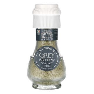 Drogheria & Alimentari, All Natural Grey Brittany Sea Salt Mill, 2.47 oz (70 g)