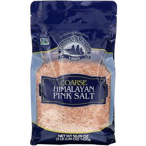Дрогерия и Алиментари, Coarse Himalayan Pink Salt, 50.09 oz (1,420 g) отзывы