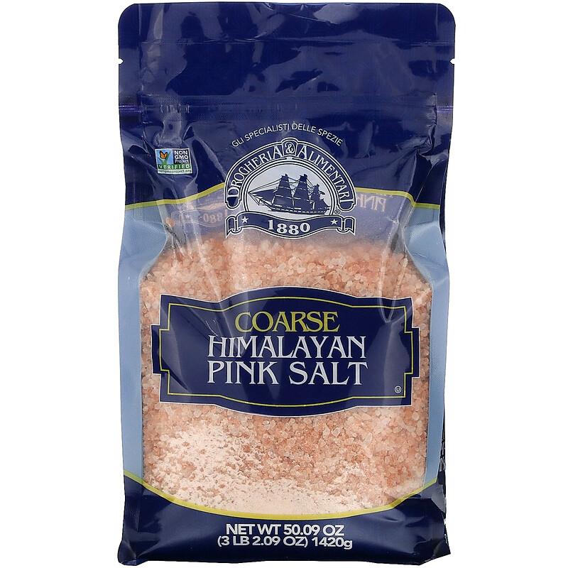 Drogheria & Alimentari, Coarse Himalayan Pink Salt, 50.09 oz (1420 g)