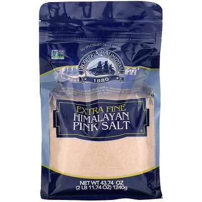 Drogheria & Alimentari Extra Fine Ground Himalayan Pink Salt, 43.74 oz (1240 g)