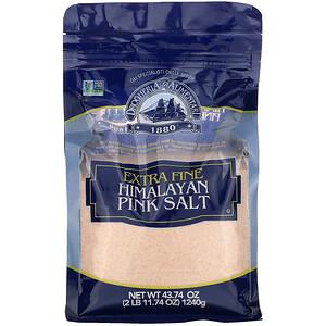 Дрогерия и Алиментари, Extra Fine Himalayan Pink Salt, 43.74 oz (1,240 g) отзывы