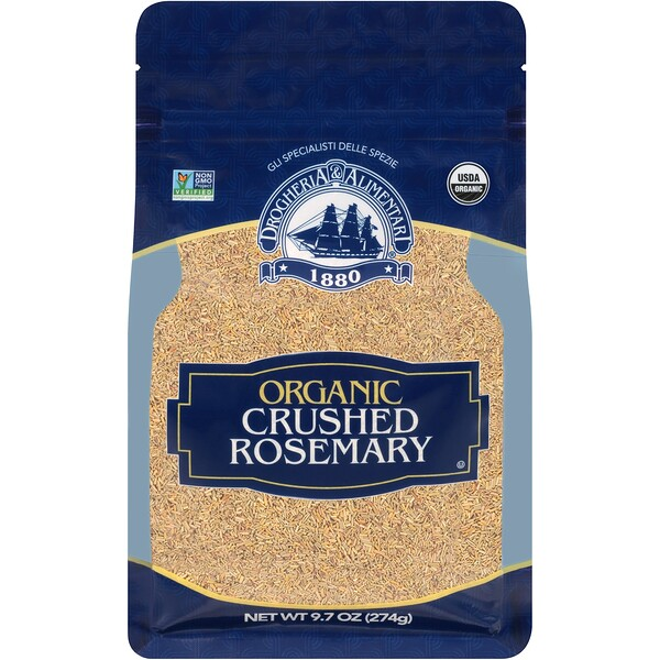 Organic Crushed Rosemary, 9.7 oz (274 g)