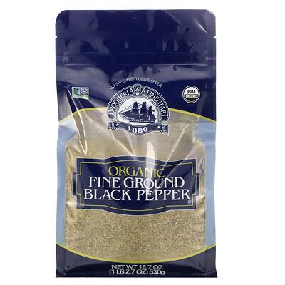 Купить Drogheria & Alimentari Organic Fine Ground Black Pepper, 18.7 oz (530 g)
