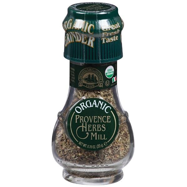 Drogheria & Alimentari, Organic Provence Herbs Blend Mill, 0.71 oz (20 g) (Discontinued Item)