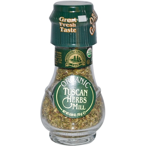Drogheria & Alimentari, Organic Tuscan Herbs Mill, 0.56 oz (16 g) (Discontinued Item)