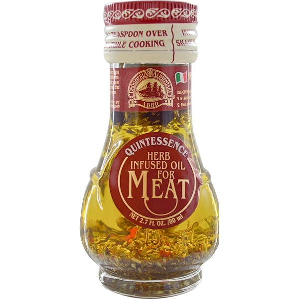 Drogheria & Alimentari, Herb Infused Oil for Meat, 2.7 fl oz (80 ml) (Discontinued Item)