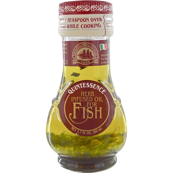 Drogheria & Alimentari, Herb Infused Oil for Fish, 2.7 fl oz (80 ml) (Discontinued Item)