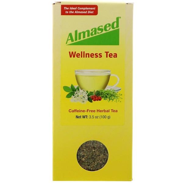 Almased USA, оздоравливающий чай, 3,5 унции (100 г) (Discontinued Item)