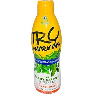Ол уан Нутритэк, TRC Minerals, Liquid Concentrate, 32 oz (946 ml) отзывы покупателей