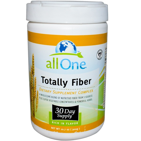 All One, Nutritech, Totally Fiber, 10.7 oz (300 g) (Discontinued Item)