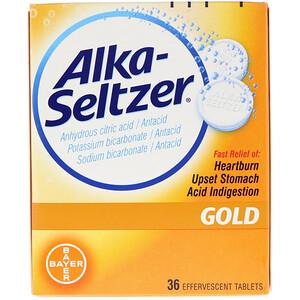 АлкаЗелцер, Gold, 36 Effervescent Tablets отзывы