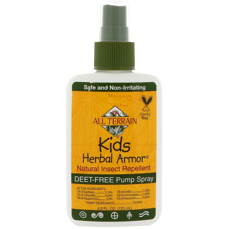 Kids Herbal Armor, Natural Insect Repellent, 4 fl oz (120 ml)