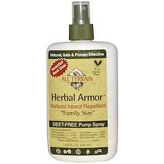 All Terrain, Herbal Armor, Natural Insect Repellent, Deet-Free Pump Spray, 8.0 fl oz (240 ml)