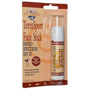 Ол Тирэйн, TerraSport Face Stick SPF 28, 0.6 oz (17 g) отзывы