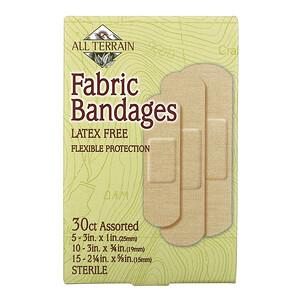 Ол Тирэйн, Fabric Bandages, Latex Free, Assorted, 30 Count отзывы покупателей