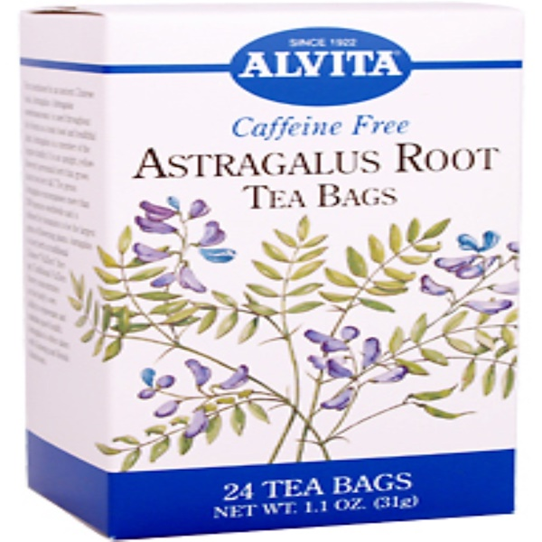 Alvita Teas, Astragalus Root, 24 Tea Bags, 1.1 oz. (31 g) (Discontinued Item)