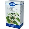 Alvita Teas, Hojas de ortiga, sin cafeína, 30 bolsitas de té, 1.44 oz (41 g) (Discontinued Item)