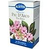 Alvita Teas, Pau D'Arco, Caffeine Free, 24 Tea Bags, 2.12 oz (60 g)  (Discontinued Item)